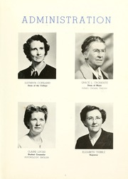 Page 13, 1947 Edition, Anderson College - Columns / Sororian Yearbook (Anderson, SC) online yearbook collection