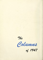 Page 6, 1947 Edition, Anderson College - Columns / Sororian Yearbook (Anderson, SC) online yearbook collection