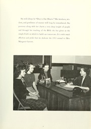 Page 11, 1955 Edition, Anderson College - Columns / Sororian Yearbook (Anderson, SC) online yearbook collection