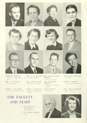 Page 16, 1955 Edition, Anderson College - Columns / Sororian Yearbook (Anderson, SC) online yearbook collection