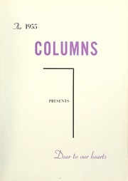 Page 7, 1955 Edition, Anderson College - Columns / Sororian Yearbook (Anderson, SC) online yearbook collection