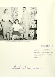 Page 8, 1955 Edition, Anderson College - Columns / Sororian Yearbook (Anderson, SC) online yearbook collection