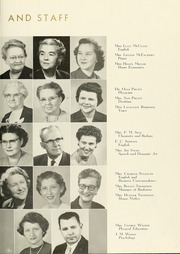 Page 13, 1956 Edition, Anderson College - Columns / Sororian Yearbook (Anderson, SC) online yearbook collection