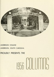 Page 5, 1956 Edition, Anderson College - Columns / Sororian Yearbook (Anderson, SC) online yearbook collection