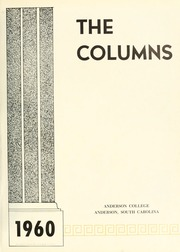 Page 5, 1960 Edition, Anderson College - Columns / Sororian Yearbook (Anderson, SC) online yearbook collection