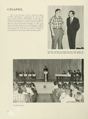 Page 138, 1967 Edition, Anderson College - Columns / Sororian Yearbook (Anderson, SC) online yearbook collection
