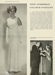 Page 18, 1967 Edition, Anderson College - Columns / Sororian Yearbook (Anderson, SC) online yearbook collection