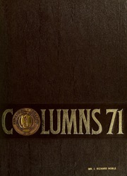 Page 1, 1971 Edition, Anderson College - Columns / Sororian Yearbook (Anderson, SC) online yearbook collection
