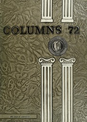 Anderson College - Columns / Sororian Yearbook (Anderson, SC) online yearbook collection, 1972 Edition, Page 1