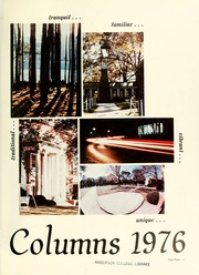 Page 5, 1976 Edition, Anderson College - Columns / Sororian Yearbook (Anderson, SC) online yearbook collection