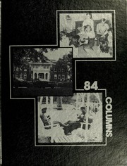 1984 Edition, Anderson College - Columns / Sororian Yearbook (Anderson, SC)