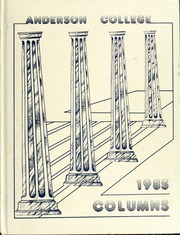 1985 Edition, Anderson College - Columns / Sororian Yearbook (Anderson, SC)