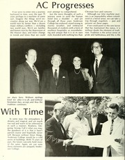 Page 8, 1986 Edition, Anderson College - Columns / Sororian Yearbook (Anderson, SC) online yearbook collection