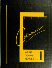 1987 Edition, Anderson College - Columns / Sororian Yearbook (Anderson, SC)