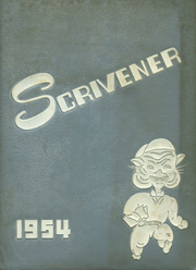 1954 Edition, Springfield High School - Scrivener Yearbook (Springfield, PA)