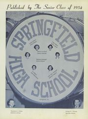 Page 5, 1954 Edition, Springfield High School - Scrivener Yearbook (Springfield, PA) online yearbook collection