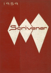 1959 Edition, Springfield High School - Scrivener Yearbook (Springfield, PA)