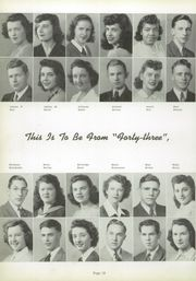 Page 16, 1943 Edition, Uniontown High School - Maroon and White Yearbook (Uniontown, PA) online yearbook collection