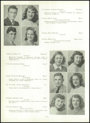 Page 16, 1947 Edition, Uniontown High School - Maroon and White Yearbook (Uniontown, PA) online yearbook collection