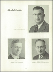 Page 9, 1947 Edition, Uniontown High School - Maroon and White Yearbook (Uniontown, PA) online yearbook collection