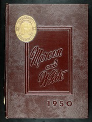 Uniontown High School - Maroon and White Yearbook (Uniontown, PA) online yearbook collection, 1950 Edition, Page 1
