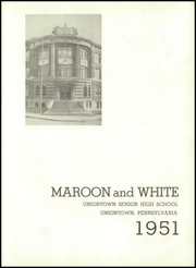 Page 5, 1951 Edition, Uniontown High School - Maroon and White Yearbook (Uniontown, PA) online yearbook collection