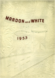 Page 1, 1953 Edition, Uniontown High School - Maroon and White Yearbook (Uniontown, PA) online yearbook collection