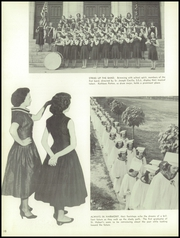 Page 14, 1957 Edition, St Hubert Catholic High School - Calling Echo Yearbook (Philadelphia, PA) online yearbook collection