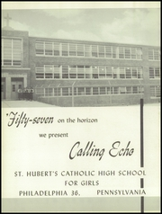 Page 6, 1957 Edition, St Hubert Catholic High School - Calling Echo Yearbook (Philadelphia, PA) online yearbook collection