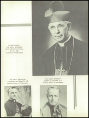 Page 8, 1957 Edition, St Hubert Catholic High School - Calling Echo Yearbook (Philadelphia, PA) online yearbook collection