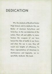 Page 8, 1944 Edition, Bradford High School - Barker Yearbook (Bradford, PA) online yearbook collection
