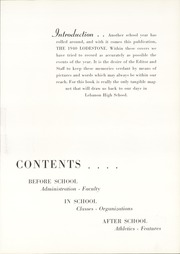 Page 11, 1940 Edition, Lebanon High School - Lodestone Yearbook (Lebanon, PA) online yearbook collection