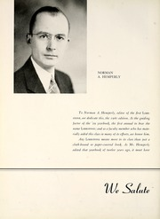 Page 10, 1941 Edition, Lebanon High School - Lodestone Yearbook (Lebanon, PA) online yearbook collection