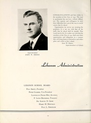 Page 16, 1941 Edition, Lebanon High School - Lodestone Yearbook (Lebanon, PA) online yearbook collection