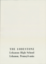 Page 5, 1949 Edition, Lebanon High School - Lodestone Yearbook (Lebanon, PA) online yearbook collection