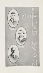 Page 15, 1919 Edition, Beaver Falls High School - Tiger Yearbook (Beaver Falls, PA) online yearbook collection