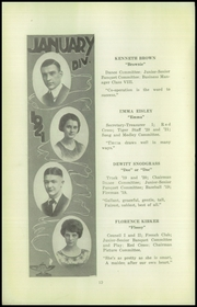 Page 12, 1921 Edition, Beaver Falls High School - Tiger Yearbook (Beaver Falls, PA) online yearbook collection