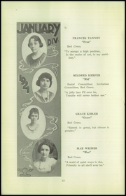 Page 14, 1921 Edition, Beaver Falls High School - Tiger Yearbook (Beaver Falls, PA) online yearbook collection