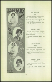 Page 16, 1921 Edition, Beaver Falls High School - Tiger Yearbook (Beaver Falls, PA) online yearbook collection