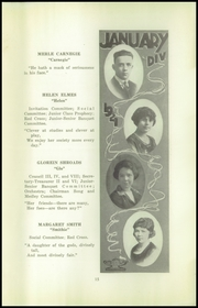 Page 17, 1921 Edition, Beaver Falls High School - Tiger Yearbook (Beaver Falls, PA) online yearbook collection