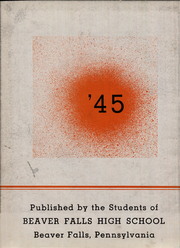 Page 4, 1945 Edition, Beaver Falls High School - Tiger Yearbook (Beaver Falls, PA) online yearbook collection