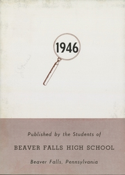 Page 6, 1946 Edition, Beaver Falls High School - Tiger Yearbook (Beaver Falls, PA) online yearbook collection