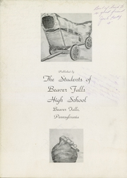 Page 6, 1949 Edition, Beaver Falls High School - Tiger Yearbook (Beaver Falls, PA) online yearbook collection