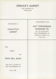 Page 15, 1956 Edition, East Stroudsburg High School - Cavalier Yearbook (East Stroudsburg, PA) online yearbook collection