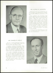 Page 14, 1951 Edition, Stroudsburg High School - Pioneer Yearbook (Stroudsburg, PA) online yearbook collection