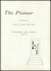 Page 5, 1951 Edition, Stroudsburg High School - Pioneer Yearbook (Stroudsburg, PA) online yearbook collection