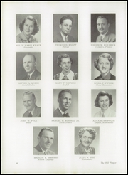 Page 14, 1952 Edition, Stroudsburg High School - Pioneer Yearbook (Stroudsburg, PA) online yearbook collection