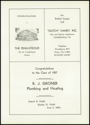 Page 107, 1957 Edition, Stroudsburg High School - Pioneer Yearbook (Stroudsburg, PA) online yearbook collection