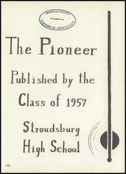 Page 5, 1957 Edition, Stroudsburg High School - Pioneer Yearbook (Stroudsburg, PA) online yearbook collection