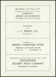 Page 95, 1957 Edition, Stroudsburg High School - Pioneer Yearbook (Stroudsburg, PA) online yearbook collection